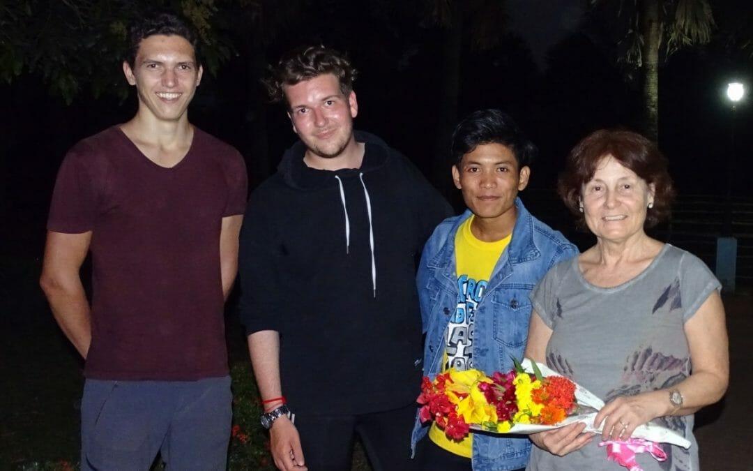 Besuch vom Vorstand in Tani