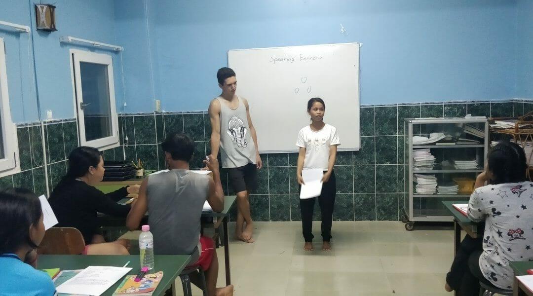 Unterricht im Kinderdorf