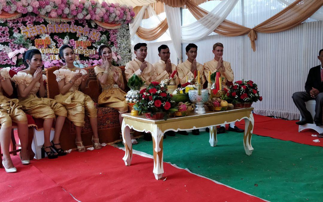 Eine kambodschanische Hochzeit