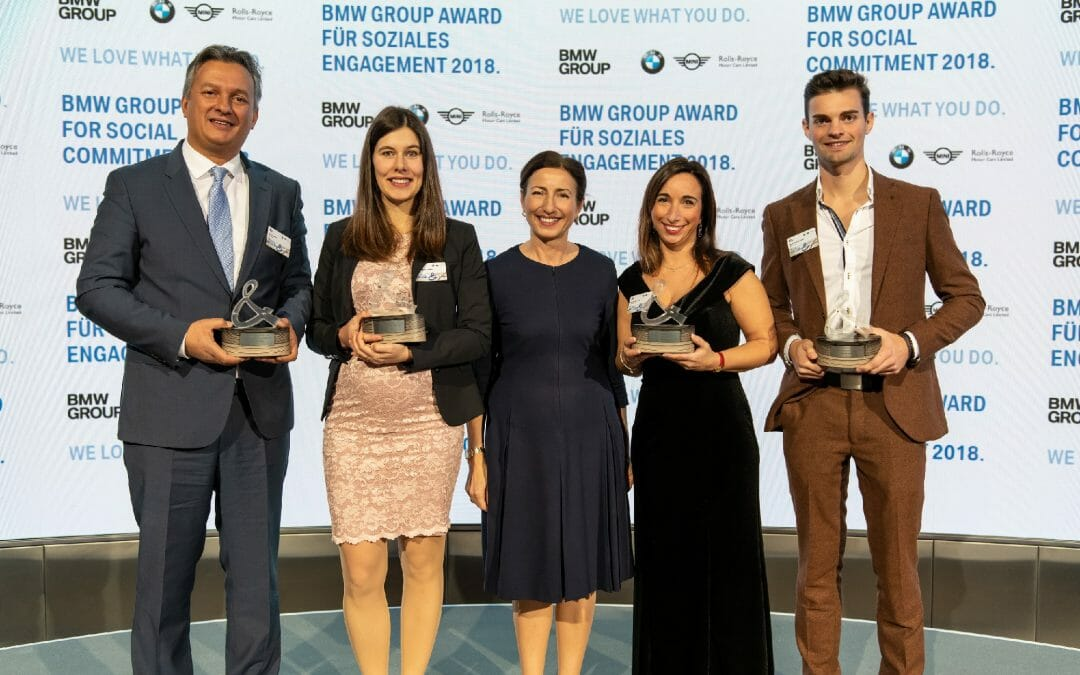 BMW Group unterstützt das Kinderdorf