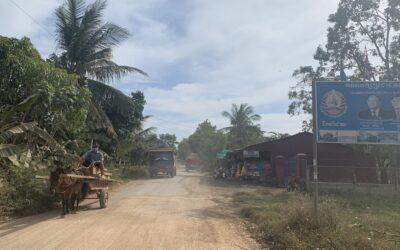 Als Europäer in Kambodscha